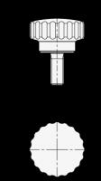 EDELSTAHL-RÄNDELSCHRAUBE 535-20-M5-10-MT