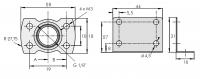 """G1/8"""" Adapter + Haltewinkel 8040610"""