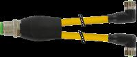 M12 Y-Verteiler / M8 Bu. 90° 7000-40841-0300200