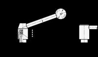 SICHERHEITS-SPANNHEBEL, GERADE 312-21-M6-D