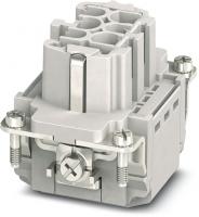 B6 Buchse 6-polig, Push-in, 500 V, 16 A 70MH-EB006-DP03020