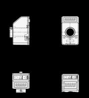 STELLUNGSANZEIGER MIT LCD-DISPLAY 9054-1-GR