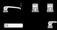 EDELSTAHL-EXZENTERSPANNER, AUFLAGESCH. VERSTELLBAR 927.5-101-M10-A