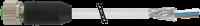 M12 Bu. ger. geschirmt mit freiem Ltg.-ende 7000-17121-2940600