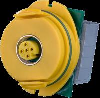 Modlink MPV Datensteckverbindereinsatz gelb 4000-69000-1090000