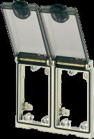Modlink MSDD Einbaurahmen 2-fach Metall 4000-68223-0000000