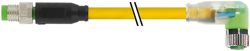 M8 St. 0° / M8 Bu. 90° LED