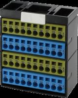 Potenzialklemmenbl. gelb blau gelb blau 56080