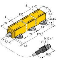 LI150P1-Q17LM1-LU4X2-0.3-RS5/S97 1590743