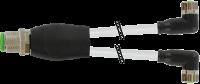 M12 Y-Verteiler / M8 Bu. 90° 7000-40841-2500100