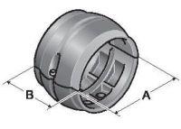 Set SRF-68 Schlauchring fest, schwarz mit Systemhalter SH 56/70 83692246