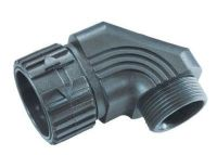 WSV M40x1,5/29 m-fix Schlauchverschraubung, 90°, schwarz 83605058