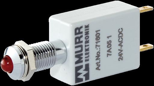 LED-Anzeige rot 230V AC/DC IP67