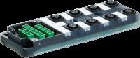 Exact12, 8xM12, 5 pol., Grundmodul PNP-LED 8000-88500-0000000