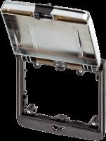 Modlink MSDD Einbaurahmen 2-fach metallic 4000-68523-0000001