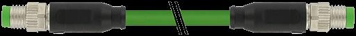 M8 St. 0° / M8 St. 0° A-kod. geschirmt