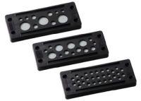 KDP/X 24/17-1 Kabeldurchführungsplatte, schwarz, VE=50 Stück 87301357