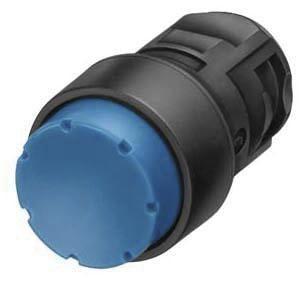 Betätigungselement 16mm Drucktaster mit hohem Druckknopf blau