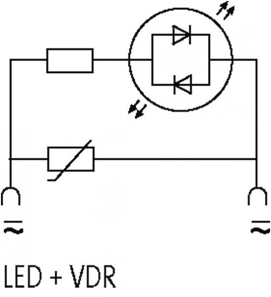 Ventilentstörmodul Bauform A - 18mm