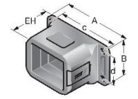 FL-EF 26042, Flanschanschluss für Energoflex, schwarz 83361018