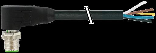 M12 St. gew. mit freiem Leitungsende