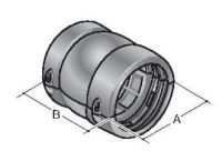 KEG/K-56 sw, Kugelendgelenk für Kabelstern-Zugentlastung 83692466