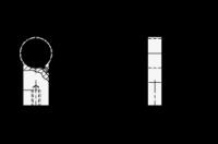 FUßTEIL, SILBERN (ZUR BEFEST. VON LANGEN ROHREN) 333.9-28-A-SR