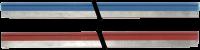 Mico Pro Endlossteckbrücke 1x blau 1x rot 9000-41000-0000003