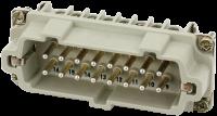 B16 Stift 16-polig, Schraub, 500 V, 16 A 70MH-ES016-FS03020