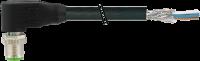 M12 St. gew. geschirmt mit freiem Ltg.-ende 7000-19321-7031000