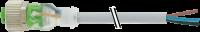 M12 Bu ger. mit LED freiem Leitungsende 7000-12291-2341000