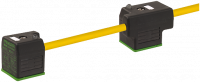MSUD Doppelventilst. BF A 18mm m. Anschl.-ltg. 7000-58021-0270150