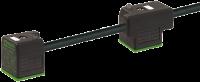 MSUD Doppelventilst. BF A 18mm m. Anschl.-ltg. 7000-58021-6370300