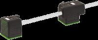 MSUD Doppelventilst. BF A 18mm m. Anschl.-ltg. 7000-58025-2271000