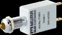 LED-Anzeige gelb 24VDC IP67 Lampentest 72711