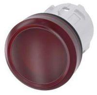 Leuchtmelder, 22mm, rund, rot, Linse, glatt 3SU1001-6AA20-0AA0