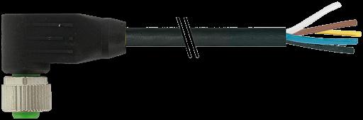 M12 Bu. gew. mit freiem Leitungsende