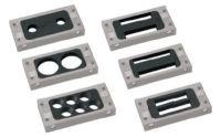 KDT/S 2x15 Kabeldurchführungstülle, 1 Stk.= 2 Hälften, schwarz 87175444