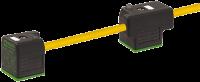 MSUD Doppelventilst. BF A 18mm m. Anschl.-ltg. 7000-58021-0270300