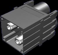 Power Stiftmodul, 2-polig, Crimp 70MH-MAF2C-0020704