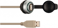 MSDD Einbaudose USB 3.0 BF A, 2.0 m Kabelverlängerung 4000-73000-0180000