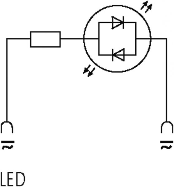 Ventilentstörmodul Bauform BI - 11mm 90°