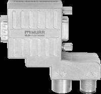 M12/D-Sub Profibus Adapter 90°-Zn 7000-99431-0000000