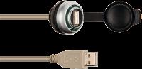 MSDD Einbaudose USB 3.0 BF A, 1.0 m Kabelverlängerung 4000-73000-0160000