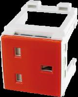 Modlink MSVD Steckdose Großbritannien orange 4000-72000-0190000