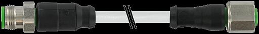 M12 St. ger. auf M12 Bu. ger. V2A