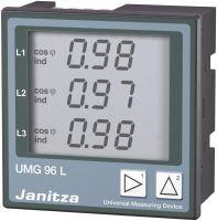 Janitza UMG 96L 196-255VAC Vierleiter- 52.14.001