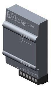 SIMATIC S7-1200, Analogeingabe, SB 1231, 1 AI, +/-10V DC (12 Bit Aufl.)