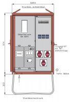 Walther WAV0100 Anschlussverteiler 24kVA WAV0100