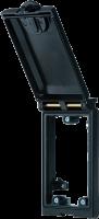 Modlink MSDD Einbaurahmen 1-fach Metall 4000-68112-0000000